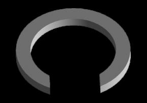 Кільце стопорне 5 передачі (оригінал) A15. Артикул: 015311191AA