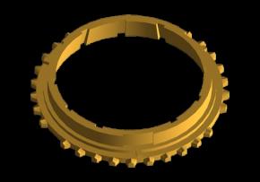 Кольцо синхронизатора 1 передачи (оригинал) A15. Артикул: 015311247AA