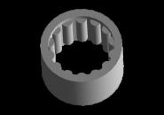 Підшипник голчастий вторинного вала задній (метал) A15 015301373AA. Артикул: 015311373AA