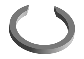 Кільце стопорне 3 передачі (оригінал) A15. Артикул: 015311381AA