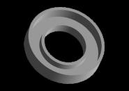 Сальник вихідного вала (первинного) КПП 21.9x40x8/6 A15. Артикул:
