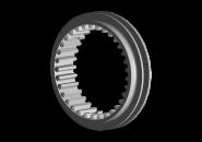 Муфта синхронизатора 3-4 передачи (оригинал) A15. Артикул: 015311341AA