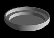Заглушка фланця диференціала КПП A15. Артикул:
