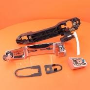 Ручка двери наружная задняя левая (хром) MK MK2. Артикул: 1018005041-01