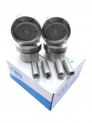 Поршень 4шт комплект + пальці STD (CDN) 1.8L EC7 EC7RV SL FC 1136000062. Артикул: CDN4085