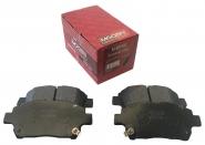 Колодки гальмівні передні (Германія, MOGEN) MK FC SL GC6 BYD F3 LIFAN 620 1014003350 1061001401 10375093-00. Артикул: MBP44