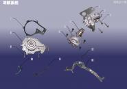 Система охлаждения. Артикул: 1.8FDJ-LQXT