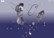 Газораспределительный механизм (ГРМ). Артикул: 1.8FDJ-LX