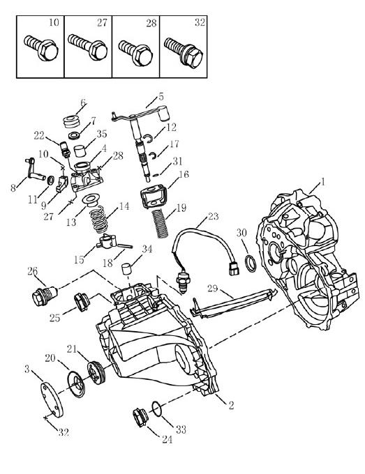 Коробка передач Geely Emgrand EC7. Артикул: 3-4-ec7