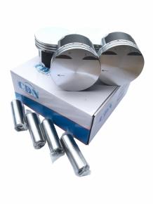 Поршень 4шт комплект + пальцы STD (CDN) 477 1.5L A13 A15 477F-1004020. Артикул: CDN4078