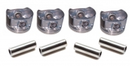 Поршня + пальци комплект STD 4шт 1.5L 477F-1004020. Артикул: 477F-1004020