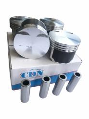 Поршень 4шт комплект + пальці 0.25 (CDN) 477 1.5L A13 A15 477F-1004020BA. Артикул: CDN4079