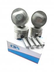 Поршень 4шт комплект + пальці STD (CDN) 1.6L A15 480EF-1004020. Артикул: CDN4080