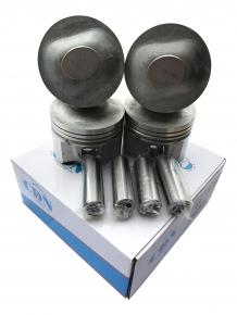 Поршень 4шт комплект + пальцы 0.25 (CDN) 1.6L A15 480EF-1004020BA. Артикул: CDN4081
