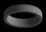 Прокладка седла выпускного клапана