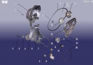 Газораспределительный механизм (ГРМ). Артикул: 481FDJ-LX