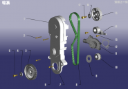 Газораспределительный механизм (ГРМ). Артикул: 480EF-LX