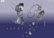 Газораспределительный механизм (ГРМ). Артикул: 484FDJ-LX