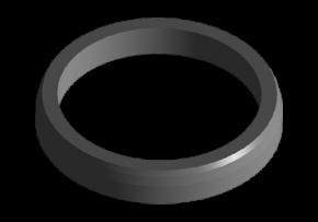 Сідло клапана впускного A15. Артикул: 480-1003021