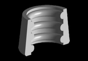 Сухарь клапана Chery Amulet. Артикул: 480-1007015
