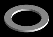 Шайба уплотнительная пробки поддона Chery Amulet/Karry KLM. Артикул: 480-1009015