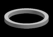 Прокладка термостата (круг) Chery Amulet/Karry. Артикул: 480-1306011