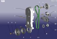 Газораспределительный механизм (ГРМ). Артикул: 480EC-LX