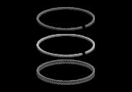 Кольца поршневые STD Chery Amulet/Karry. Артикул: 480EF-1004030