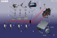 Система зажигания. Артикул: 480EF-DHXT