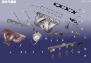 Впускна і випускна система. Артикул: 481FDJ-JPQXT