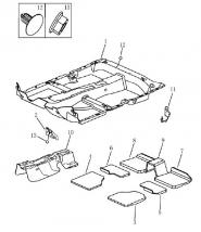 Шумоізоляція підлоги. Артикул: 5-4-ec7