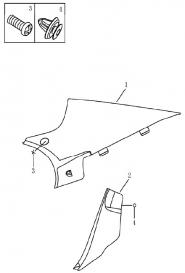 Облицювання задніх стійок салону (седан). Артикул: 9-20-ec7-fe1