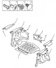Обшивка багажника (хетчбек). Артикул: 9-22-ec7-fe2