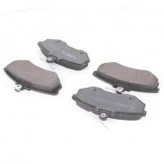 Колодки тормозные передние с ушком ABE. Артикул: a11-3501080
