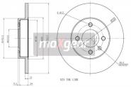 Диск тормозной передний MAX GEAR. Артикул: a11-3501075