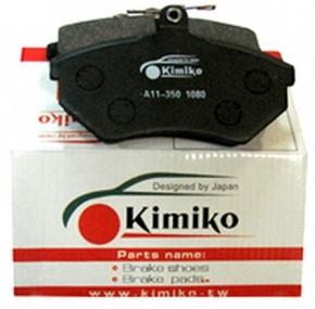 Колодки гальмівні передні з вушком Chery Amulet KIMIKO. Артикул: A11-3501080-KM