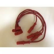 Высоковольтные провода Chery Amulet KIMIKO (силикон). Артикул: A11-3707130_40_50_60EA-KM