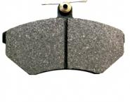 Колодки гальмівні передні з вушком Chery Amulet KIMIKO. Артикул: