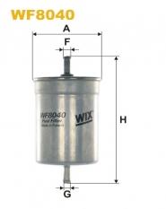 Фильтр топливный Chery Amulet WIX. Артикул: A11-1117110CA-WIX