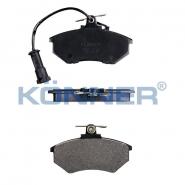 Колодки гальмівні передні з вушком KONNER. Артикул: a11-3501080