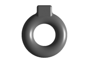 Подвес глушителя (кольцо) FISCHER. Артикул: a11-1200021