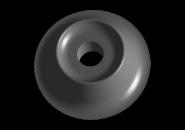 Подушка заднего амортизатора (малая) A13 A15. Артикул: