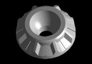 Втулка амортизатора задняя нижняя Chery Amulet/Forza. Артикул: