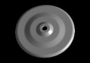 Чашка верхня метал пружини задньої Chery Amulet. Артикул: