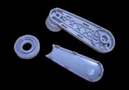 Ручка склопідіймача (сіра) Chery Amulet. Артикул: