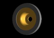 Шайба переднего амортизатора верхняя (обрезиненная) A15. Артикул: