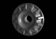 Подушка заднего амортизатора (малая) (оригинал) A13 A15. Артикул: A11-2911017