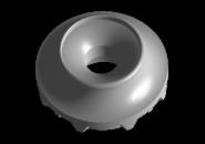 Подушка заднего амортизатора (большая) (оригинал) A13 A15. Артикул: A11-2911023