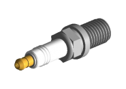 Свеча зажигания 3 контакта (Япония, NGK) (1шт) A13 A15 A21 B11 M11 S12 S21. Артикул: