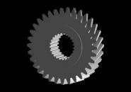 Шестерня 4 передачі вторинного вала (оригінал) A15 A18. Артикул: A11-3AA015311351AA